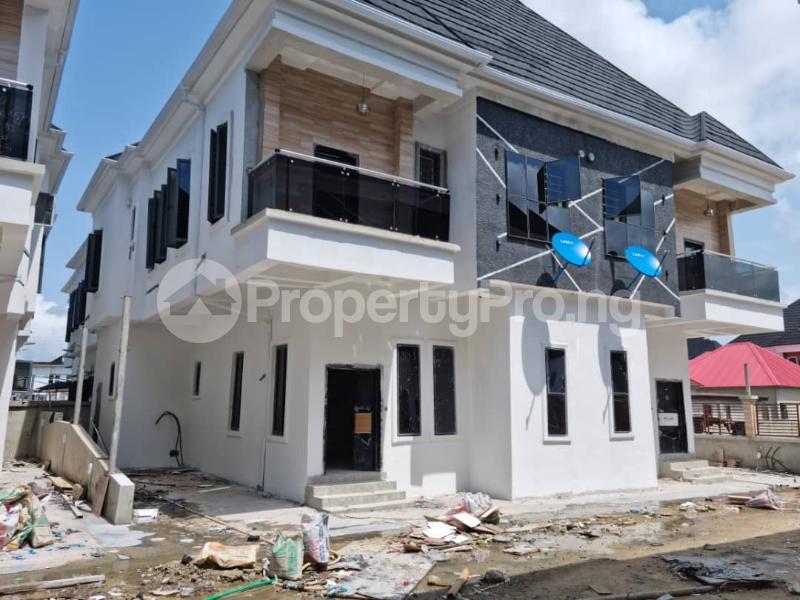 Semi Detached Duplex House for sale H HOMES OFF CHEVRON TOLL GATE  chevron Lekki Lagos - 13