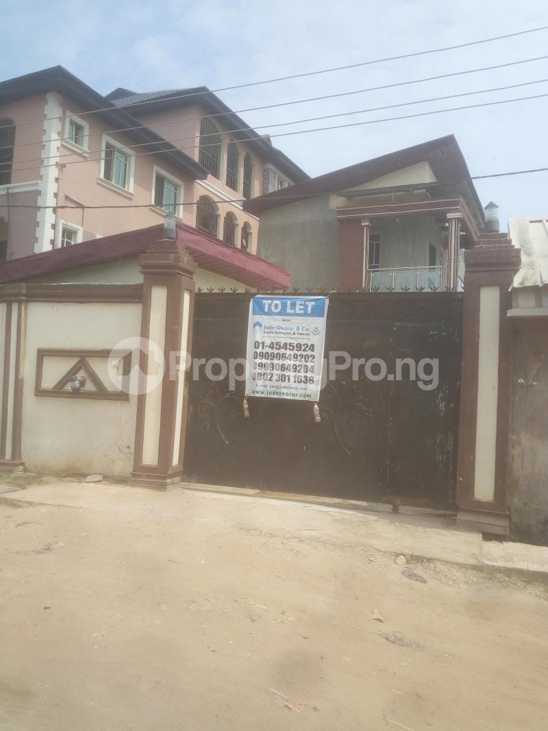 4 bedroom House for rent Canal View Estate By Jakande Bucknor Isolo Lagos - 7