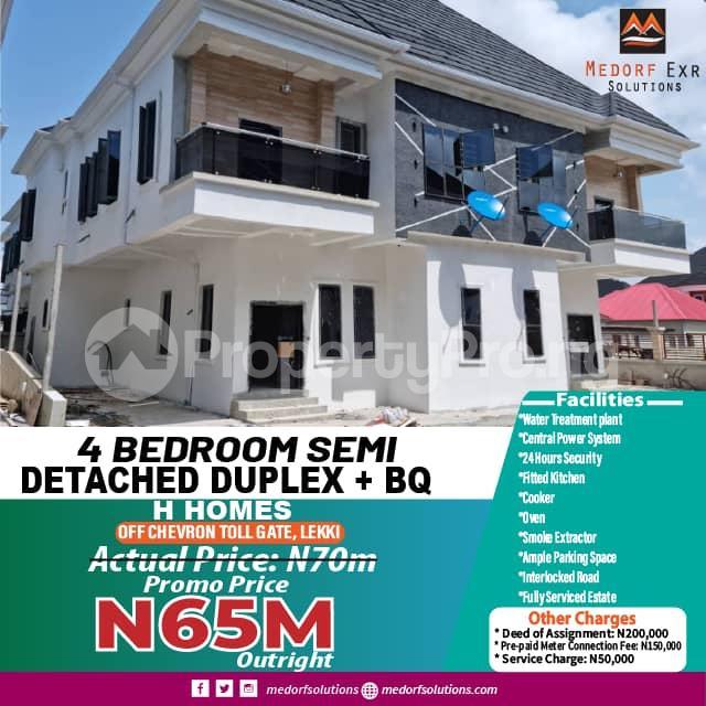 4 bedroom Semi Detached Duplex for sale Off Chevron Toll Gate chevron Lekki Lagos - 15