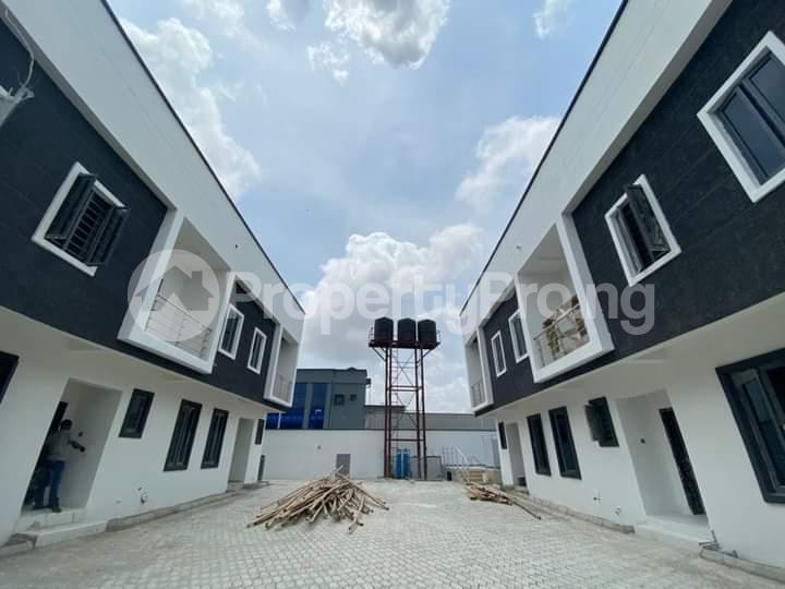 Terraced Duplex House for sale  1 mins drive from Novare mall(Shoprite ), opposite Crown Estate.   Sangotedo Ajah Lagos - 9