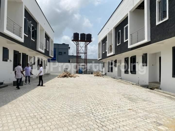 Terraced Duplex House for sale  1 mins drive from Novare mall(Shoprite ), opposite Crown Estate.   Sangotedo Ajah Lagos - 1