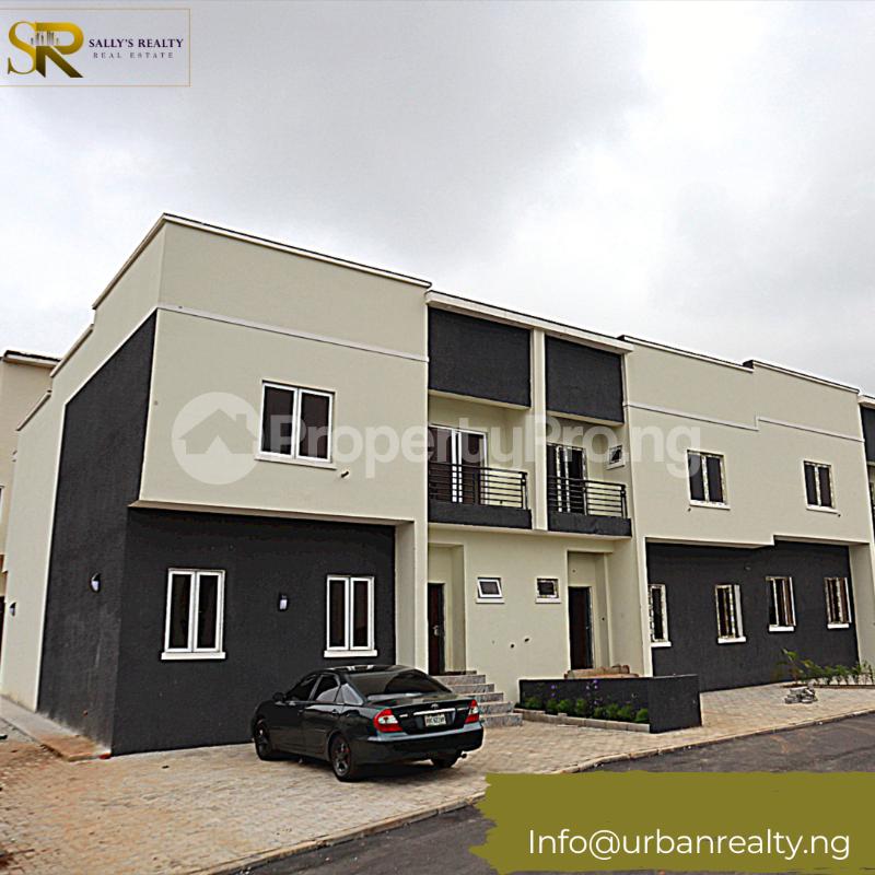 4 bedroom Terraced Duplex for sale King Aj Turner Street Wuye Abuja - 0