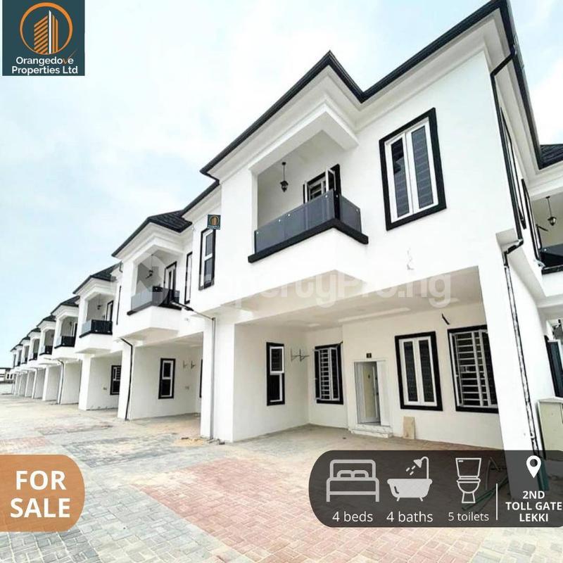 4 bedroom Terraced Duplex for sale Chevron Toll Gate chevron Lekki Lagos - 7