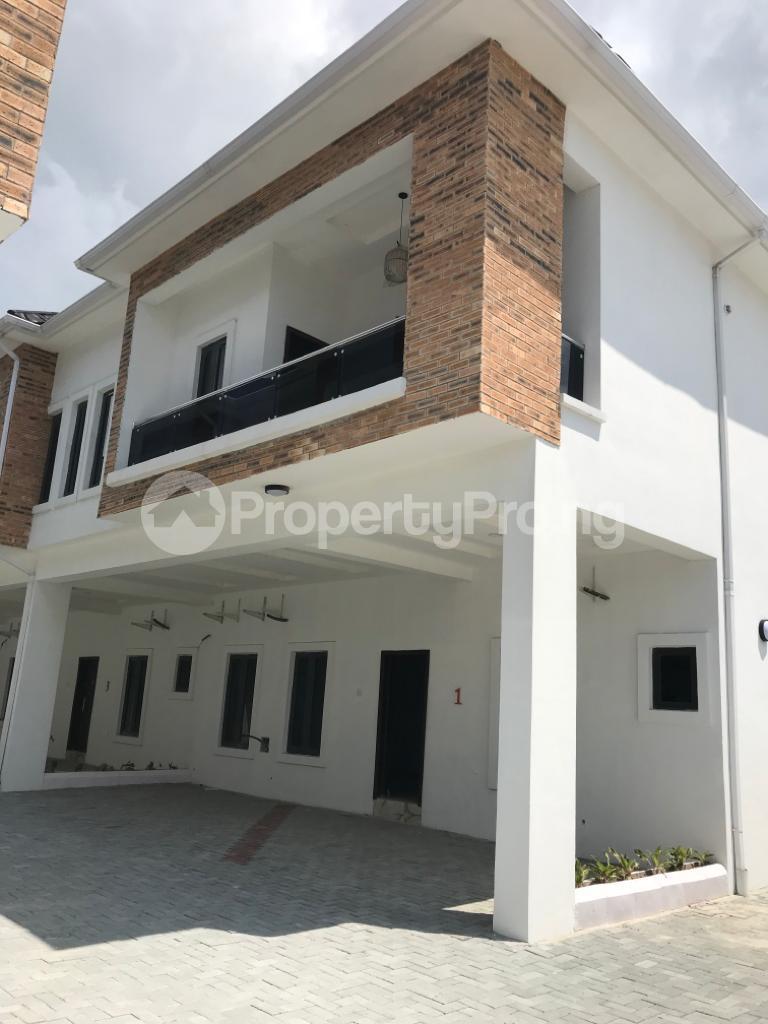 4 bedroom Terraced Duplex House for sale Lafiaji, Orchid Road Lekki Lagos - 1