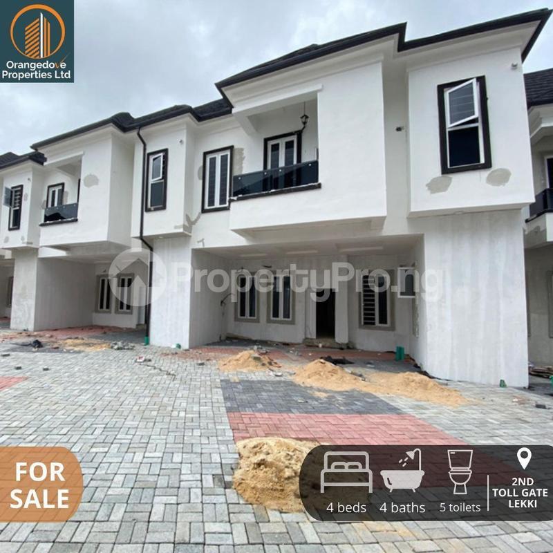 4 bedroom Terraced Duplex House for sale 2nd toll gate  chevron Lekki Lagos - 7