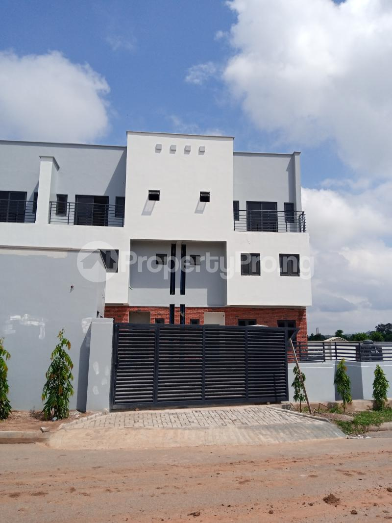 4 bedroom Terraced Duplex House for sale behind Turkish Hospital, beside United Nations Estate in lifecamp extension Karmo layout Cadastral Zone c01 Life Camp Abuja - 15