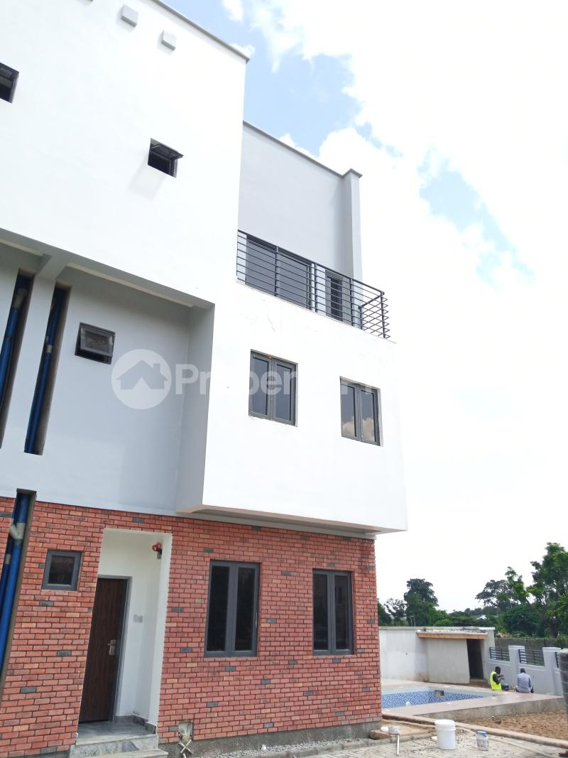 4 bedroom Terraced Duplex House for sale behind Turkish Hospital, beside United Nations Estate in lifecamp extension Karmo layout Cadastral Zone c01 Life Camp Abuja - 10
