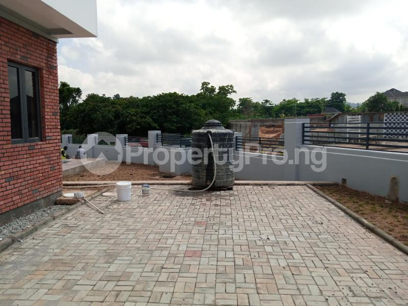 4 bedroom Terraced Duplex House for sale behind Turkish Hospital, beside United Nations Estate in lifecamp extension Karmo layout Cadastral Zone c01 Life Camp Abuja - 9