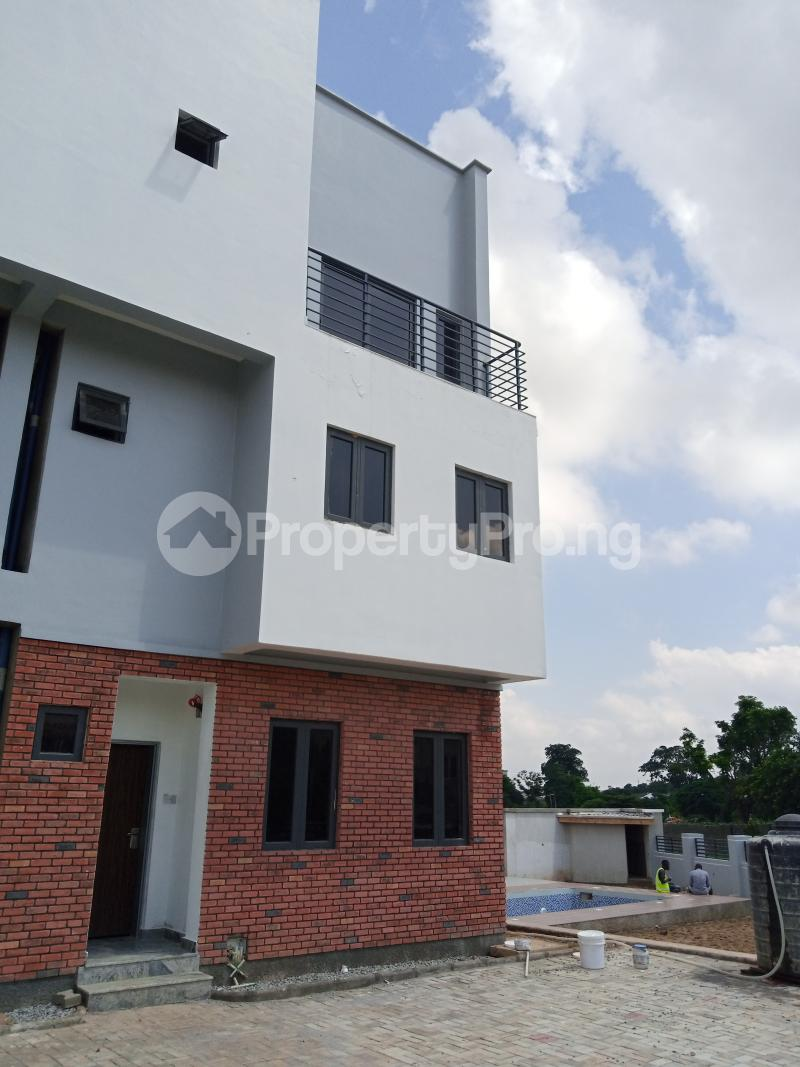 4 bedroom Terraced Duplex House for sale behind Turkish Hospital, beside United Nations Estate in lifecamp extension Karmo layout Cadastral Zone c01 Life Camp Abuja - 14