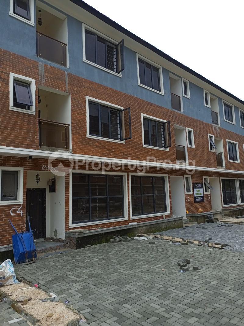 4 bedroom Terraced Duplex House for rent Canal West Estate Osapa Osapa london Lekki Lagos - 0