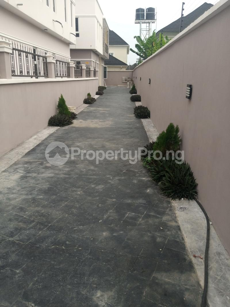 4 bedroom Detached Duplex House for sale Terra Anex Estate B4 Shoprite And Crown Estate Shegotedo Ajah Sangotedo Ajah Lagos - 1