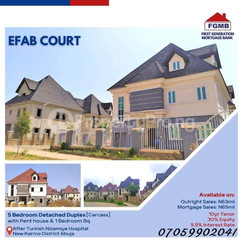 5 bedroom Detached Duplex House for sale Efab Court Nbora Abuja - 6
