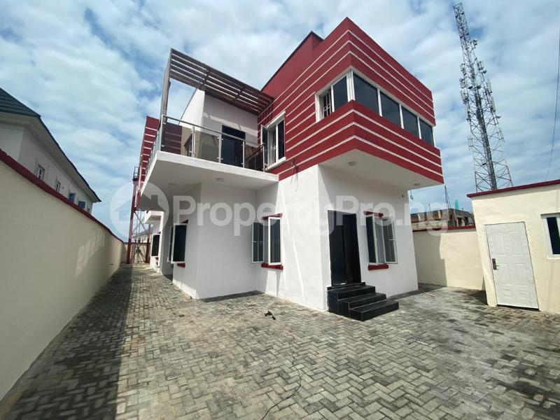 4 bedroom Detached Duplex House for sale Olorgolo  Agungi Lekki Lagos - 0