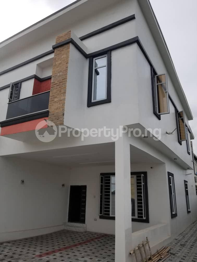 4 bedroom Terraced Duplex House for sale Budo Peninsula Thomas estate Ajah Lagos - 1