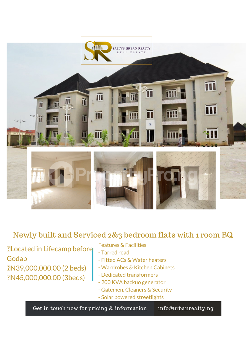 4 bedroom Flat / Apartment for sale Before Godab Estate Life Camp Abuja - 0