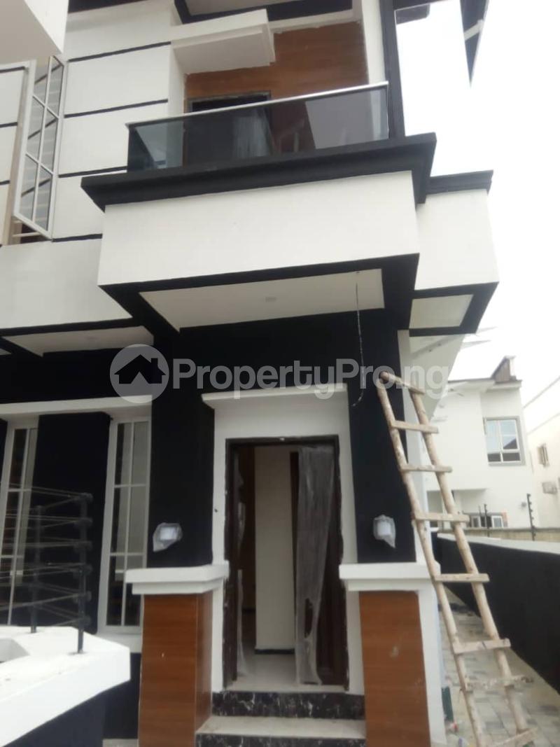 4 bedroom Semi Detached Duplex House for rent Orchid Lekki. chevron Lekki Lagos - 1