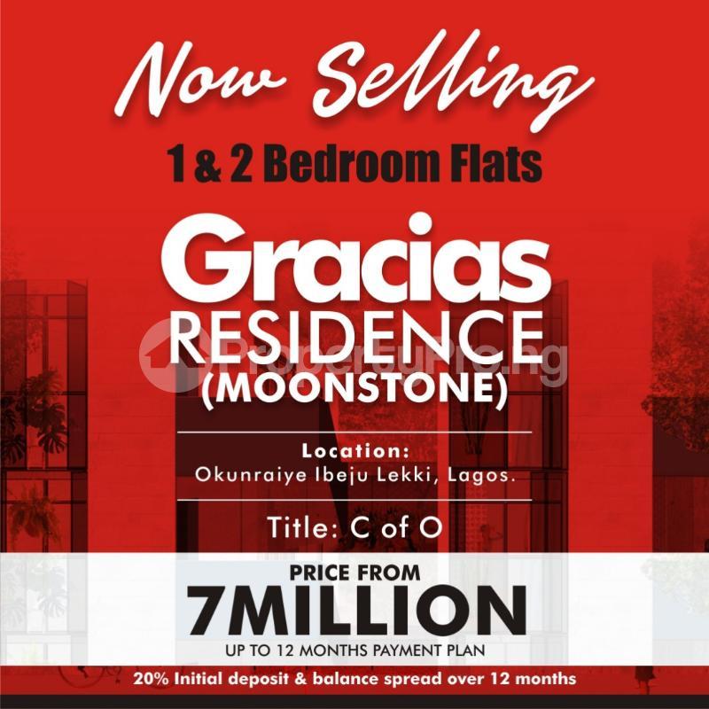 2 bedroom Blocks of Flats House for sale  OKUNRAYE TOWN, IBEJU LEKKI LAGOS Okunraiye Ibeju-Lekki Lagos - 0