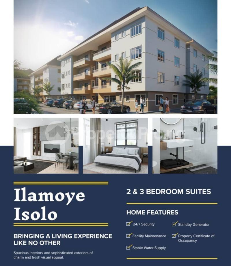 Flat / Apartment for sale Ilamoye Isolo Lagos - 1
