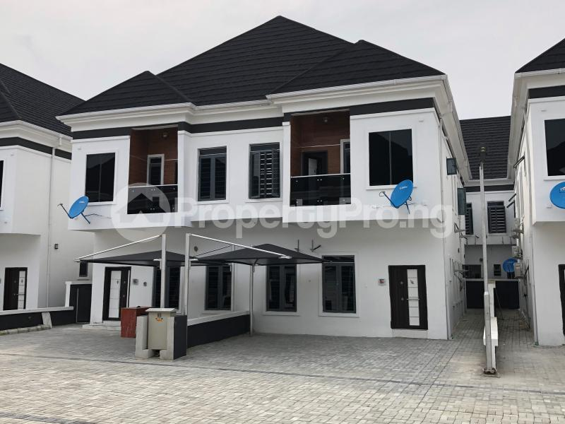 4 bedroom Semi Detached Duplex House for rent Orchid road  chevron Lekki Lagos - 12