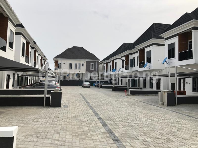 4 bedroom Semi Detached Duplex House for rent Orchid road  chevron Lekki Lagos - 14