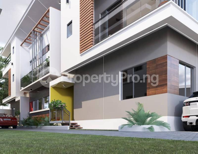 4 bedroom Terraced Duplex for sale Oghetenome Close Off Owokori Crescent, Alaka Estate Alaka/Iponri Surulere Lagos - 0