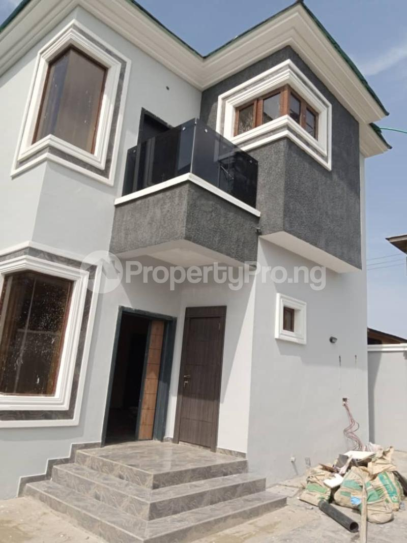Detached Duplex for sale Labak Estate Oko oba Agege Lagos - 1