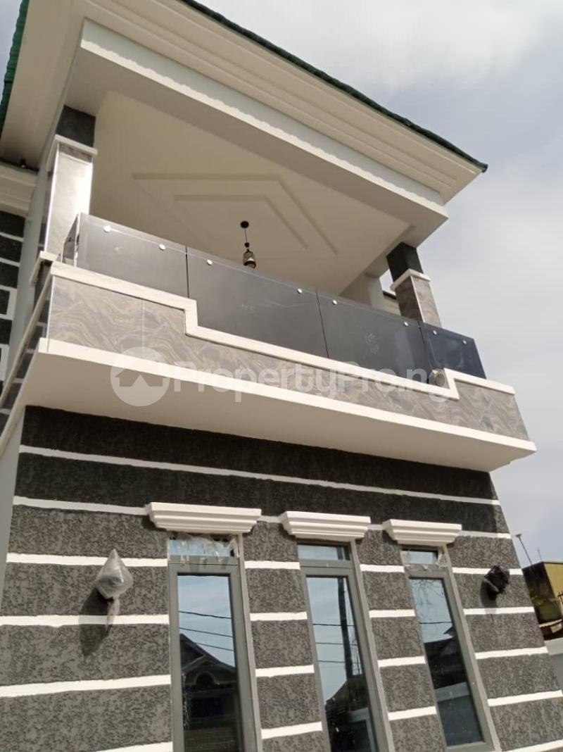 Semi Detached Duplex for sale Labak Estate Oko oba Agege Lagos - 1
