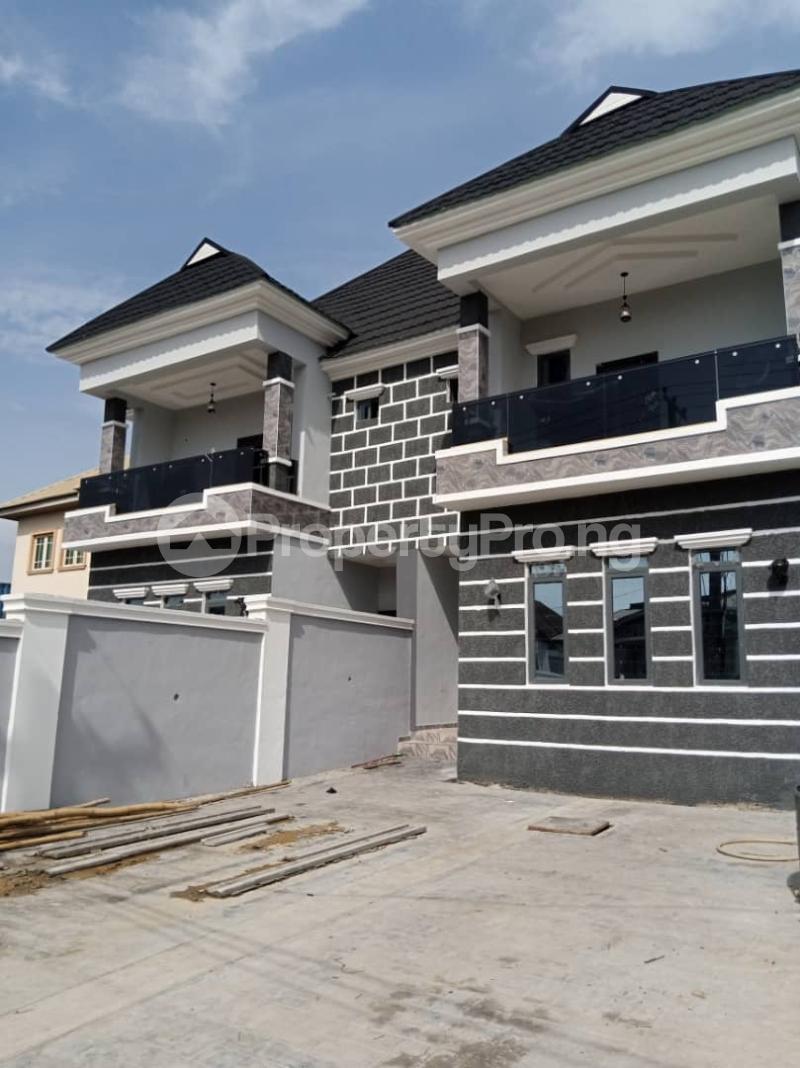 Semi Detached Duplex for sale Labak Estate Oko oba Agege Lagos - 0