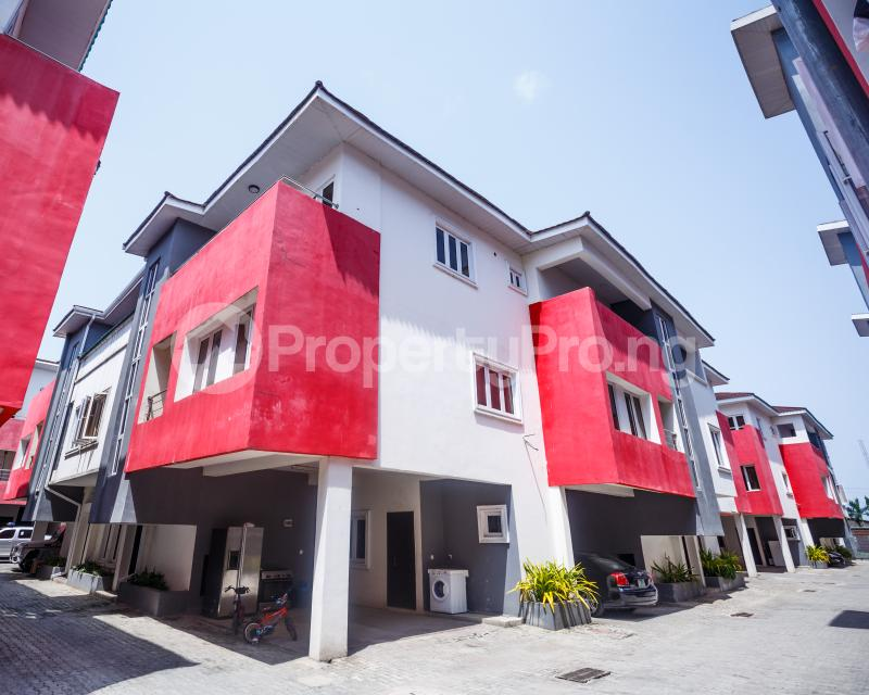 4 bedroom Terraced Duplex House for rent Ikate Elegushi Lekki  Ikate Lekki Lagos - 1