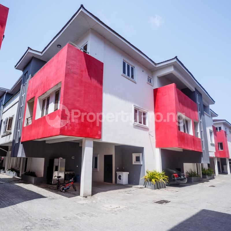 4 bedroom Terraced Duplex House for rent Ikate Elegushi Lekki  Ikate Lekki Lagos - 0