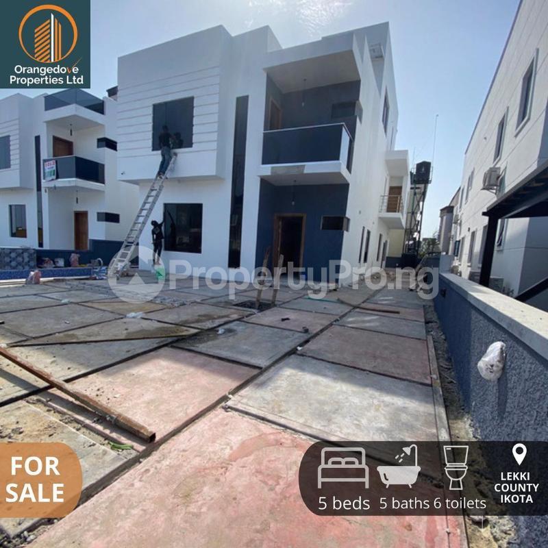5 bedroom Detached Duplex House for sale Ikota Lekki Lagos - 6