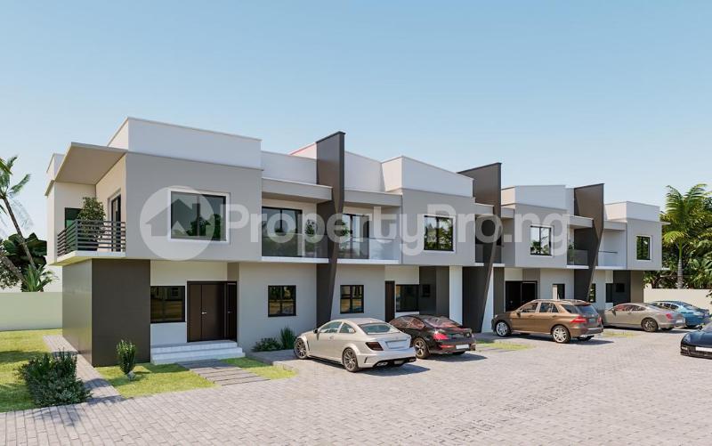 4 bedroom Terraced Duplex House for sale Christ Embassy road Aseese, Ogun state. Ibafo Obafemi Owode Ogun - 1