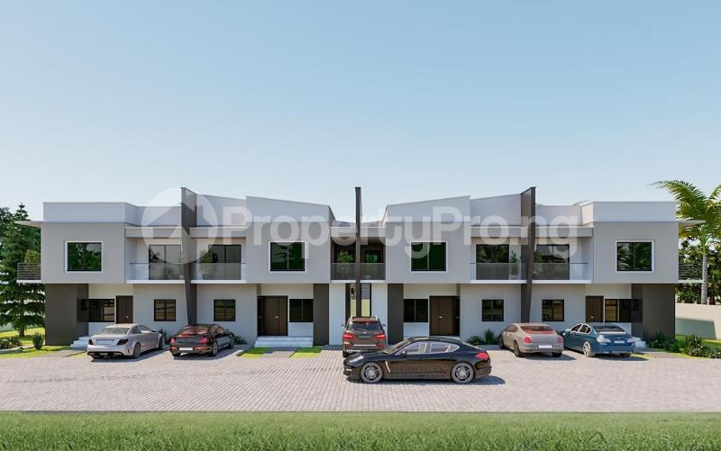 4 bedroom Terraced Duplex House for sale Christ Embassy road Aseese, Ogun state. Ibafo Obafemi Owode Ogun - 0