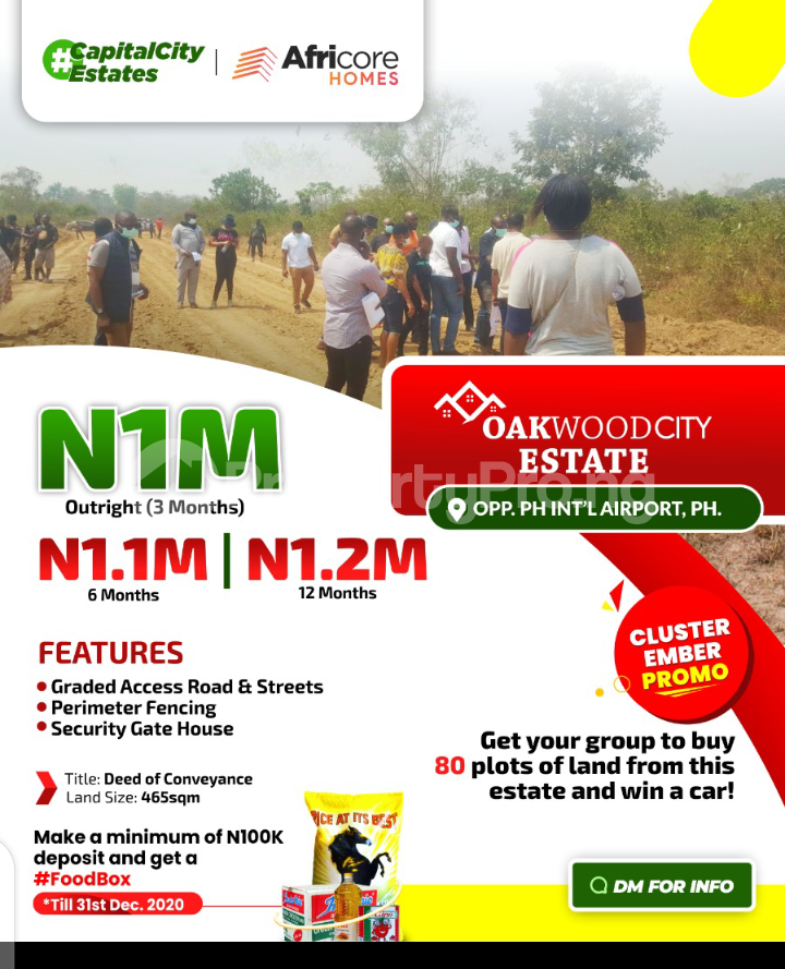 Residential Land for sale Ipo Port Harcourt Rivers - 0