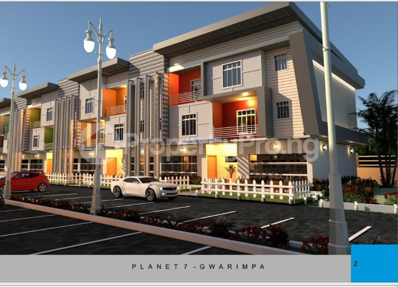 4 bedroom Terraced Duplex House for sale Life camp behind the polo club Life Camp Abuja - 0