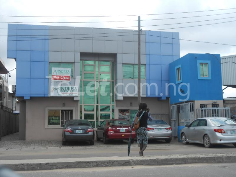 Office Space Commercial Property for rent Babs animasaun street by doyin bustop Orile-Iganmu Surulere Lagos - 0