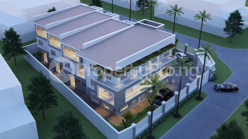 4 bedroom Terraced Duplex House for sale Dape District Life Camp Abuja - 1