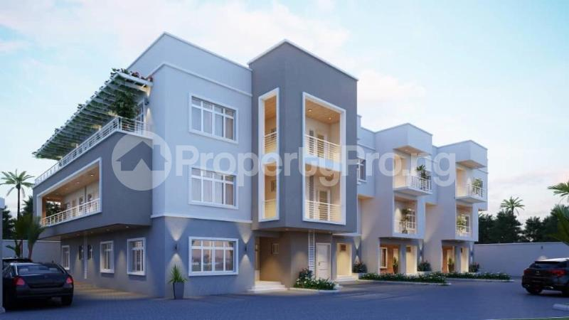 4 bedroom Terraced Duplex House for sale Dape District Life Camp Abuja - 3
