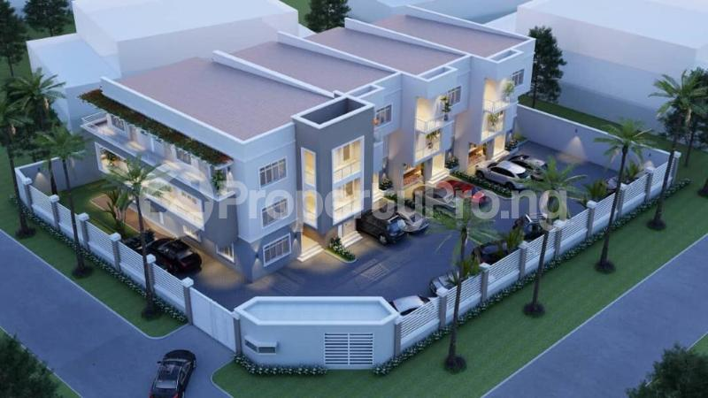 4 bedroom Terraced Duplex House for sale Dape District Life Camp Abuja - 2