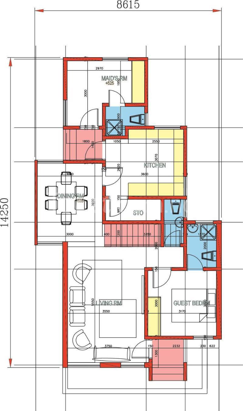 4 bedroom Flat / Apartment for sale Lafiaji Oko Ajah , Lekki, Lagos Abraham adesanya estate Ajah Lagos - 10