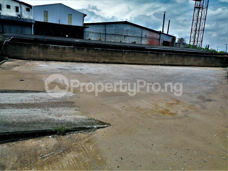 Industrial Land Land for rent Ogba Industrial Area Acme road Ogba Lagos - 1