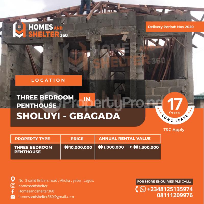 1 bedroom mini flat  Mini flat Flat / Apartment for sale ... Soluyi Gbagada Lagos - 0