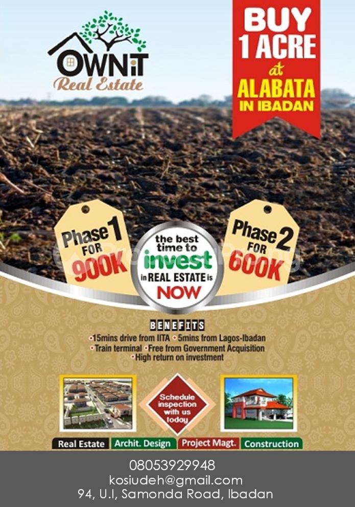 Mixed   Use Land Land for sale Akinyele Oyo - 0