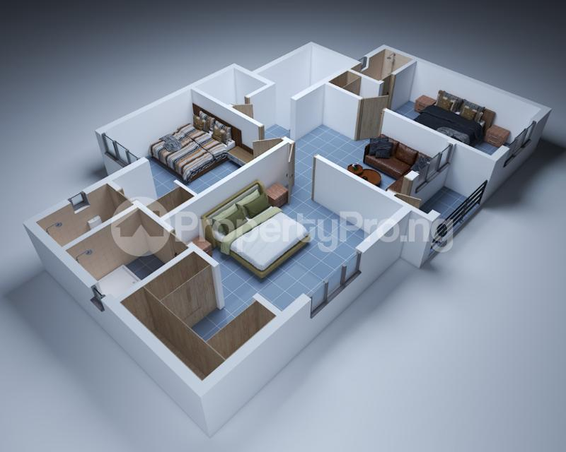 2 bedroom Studio Apartment Flat / Apartment for sale Sangotedo Ajah Lagos - 3