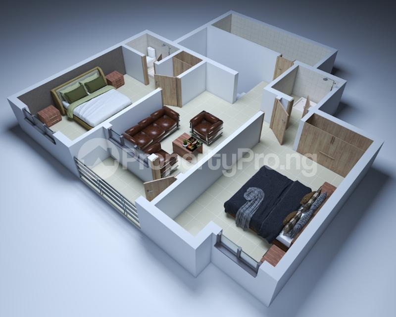2 bedroom Studio Apartment Flat / Apartment for sale Sangotedo Ajah Lagos - 5
