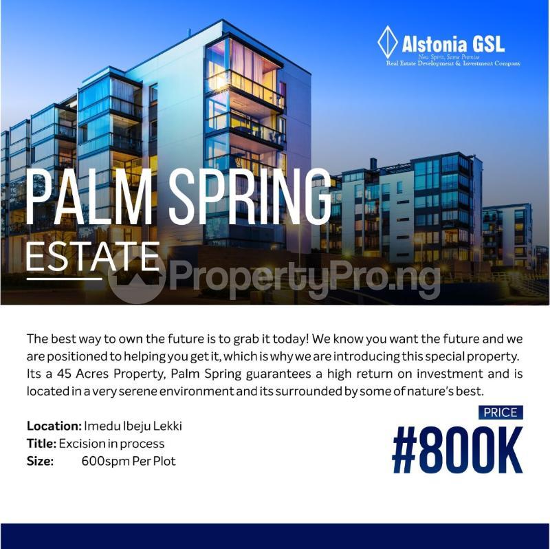 Residential Land for sale Iberekodo Ibeju-Lekki Lagos - 0