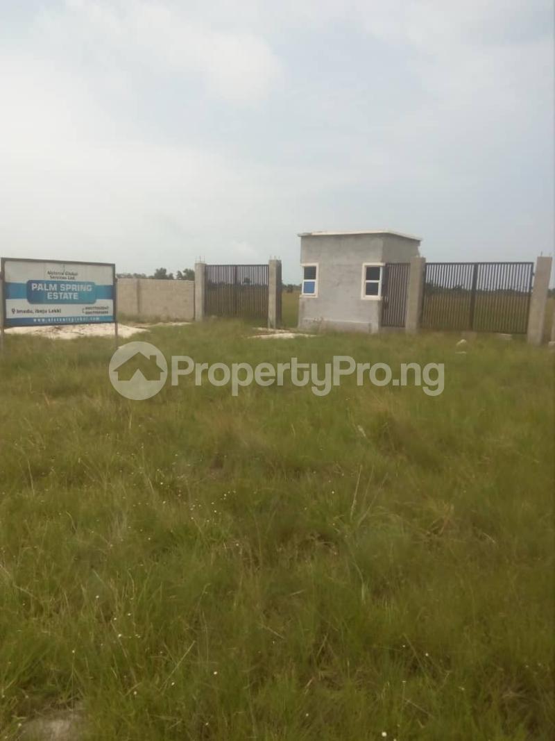 Residential Land Land for sale Eleko Free Trade Zone Ibeju-Lekki Lagos - 1