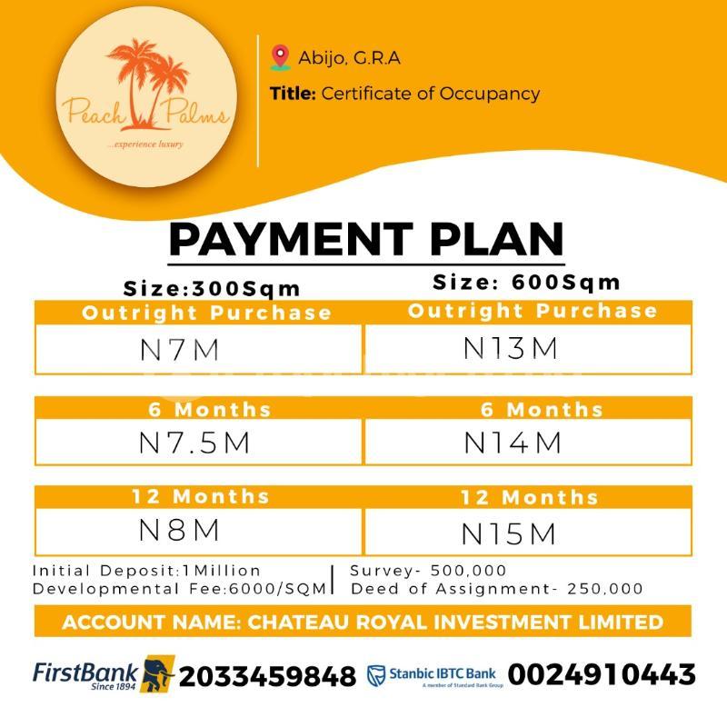 Residential Land for sale Abijo Ajah Lagos - 1