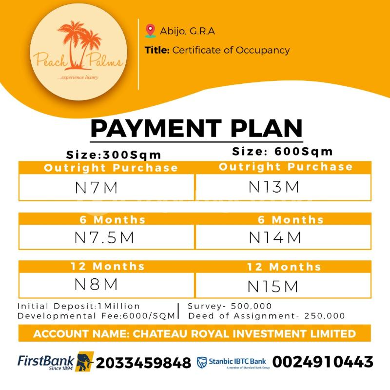 Land for sale Abijo Ajah Lagos - 0