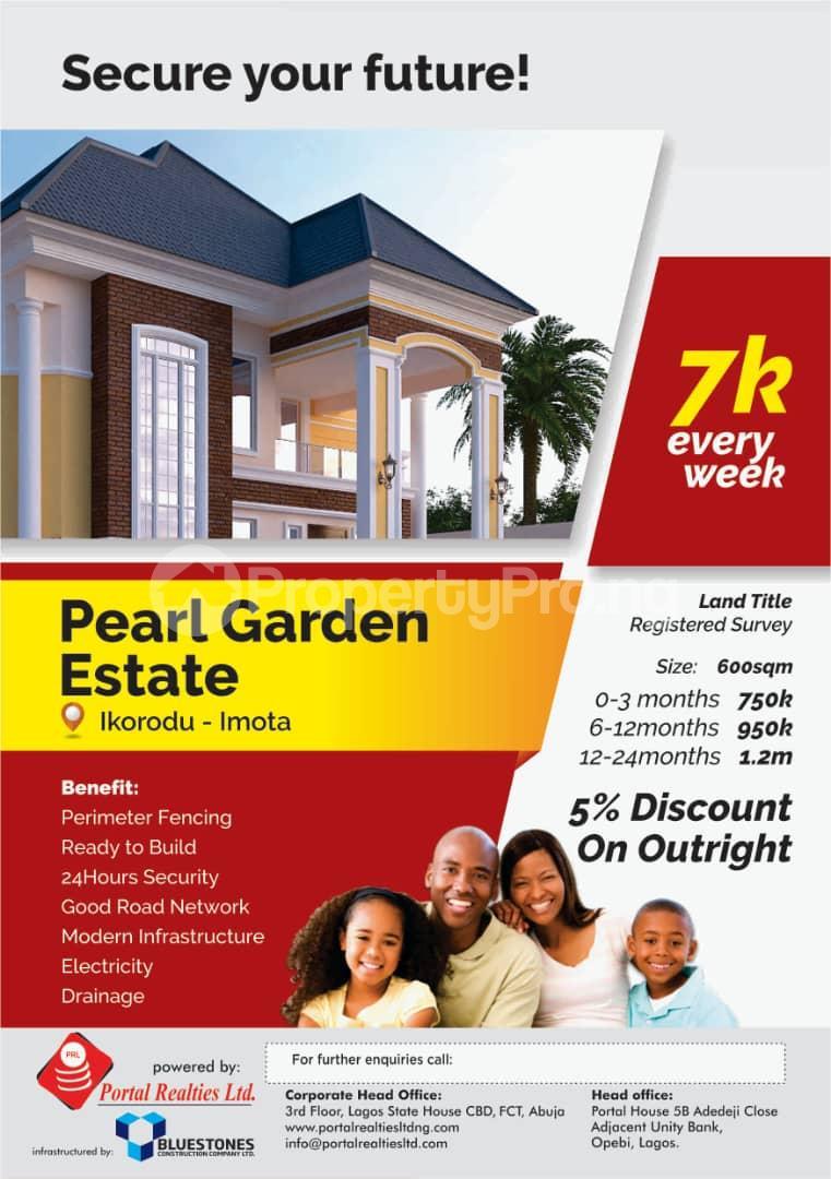 Land for rent Ikorodu Ikorodu Lagos - 0